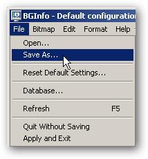 bginfo reset