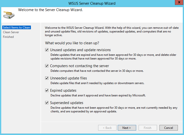 Windows Server patch management email notification when