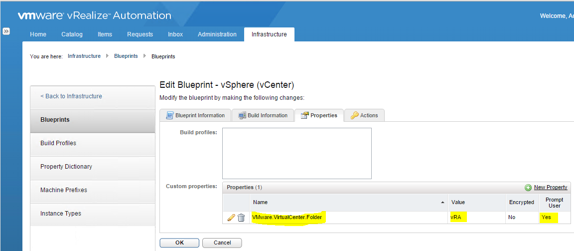 Vmware vrealize automation 622 configuration and management part 5 add in vmwarertualcenterlder and type in a name for the inventory folder in vcenter that you want to use which provisioned machines will go into malvernweather Image collections