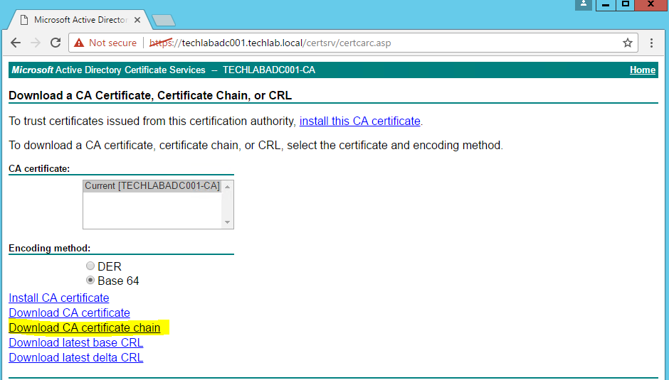 Replacing Vrops 64 Self Signed Certificates